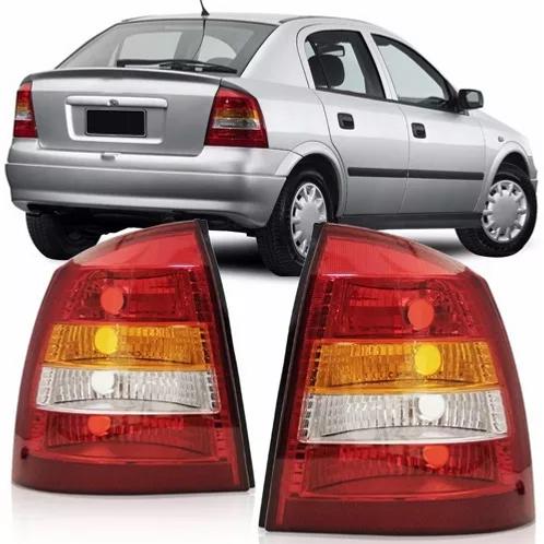 Lanterna Traseira Astra Sedan - 1998/2002 - Tricolor