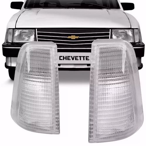 Lanterna Dianteira Chevete 1983/1992 - CRISTAL