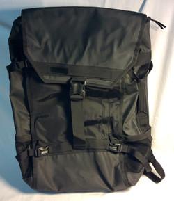 Big heavy duty black backpack