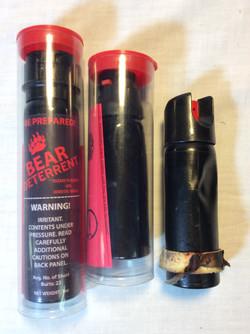 Pepper Spray (Various Sizes)