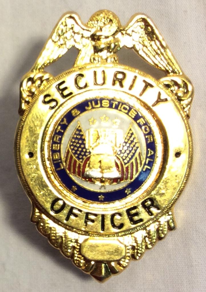 Security Officer Hat Badges