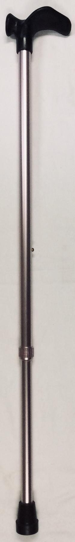 Pink adjustable aluminium cane