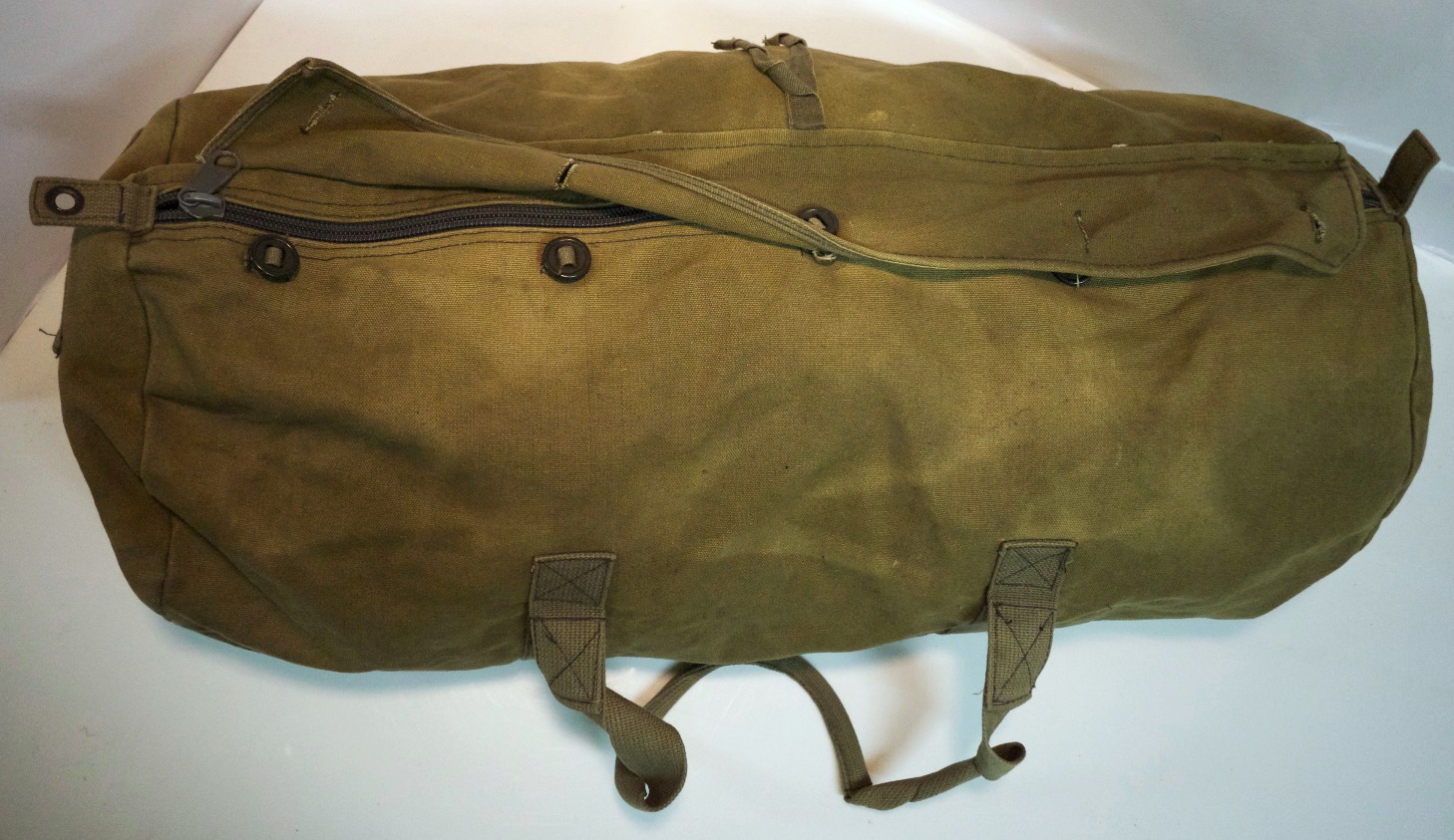 Faded Army Sack
