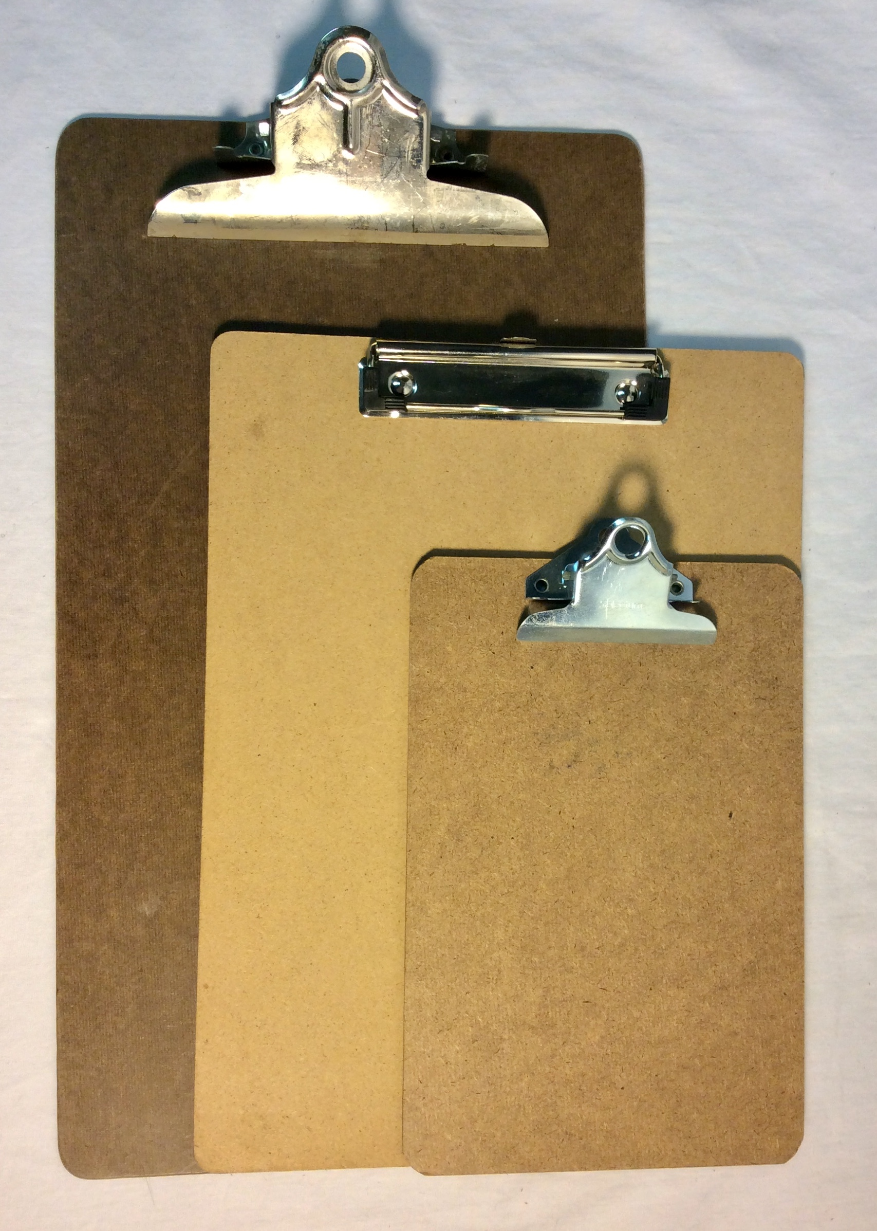 Wooden clipboards, assorted styles