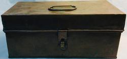 Vintage copper tool box
