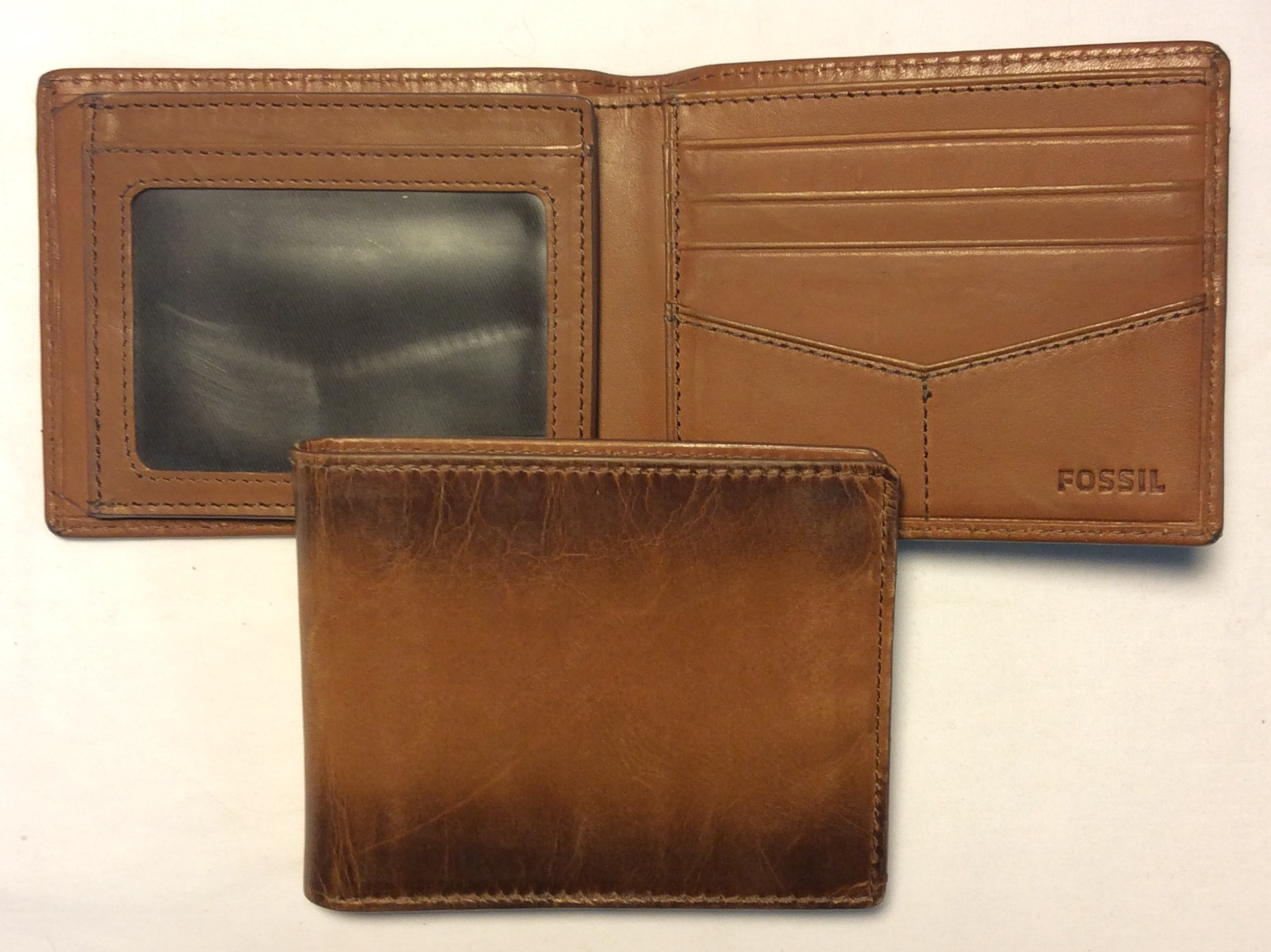 Fossil Light brown with dark brown