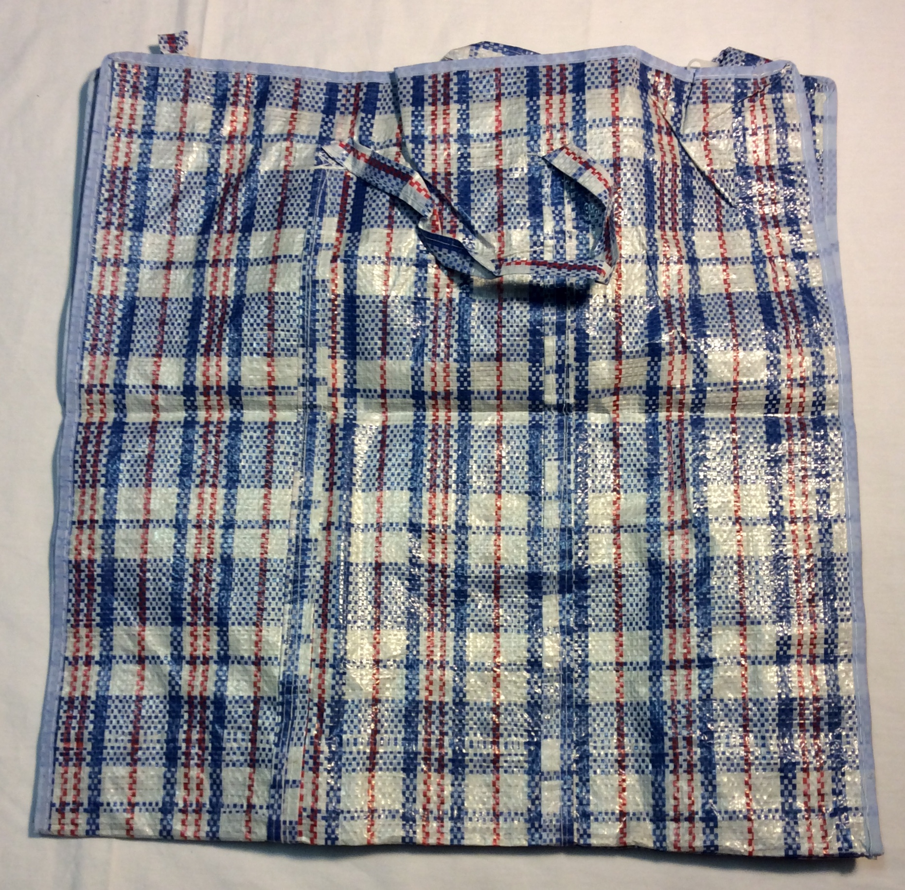 """19""""x19"""" Blue and red plaid"""