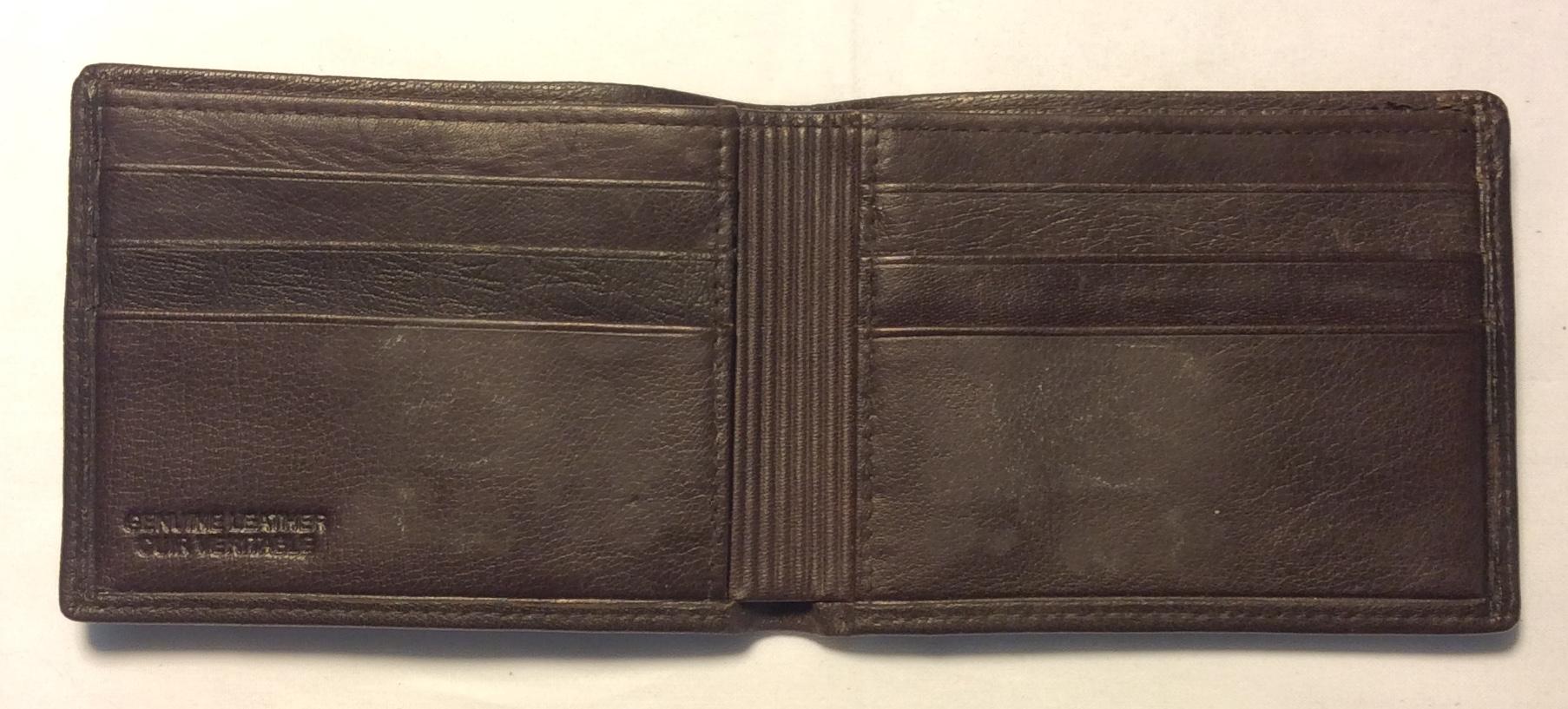 Dark brown leather;ribbed dark brown