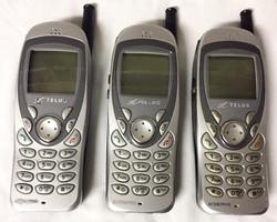 Silver Telus Keypad Cell Phones