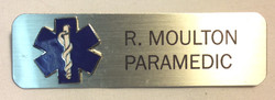 Paramedic Name Tags Black lettering