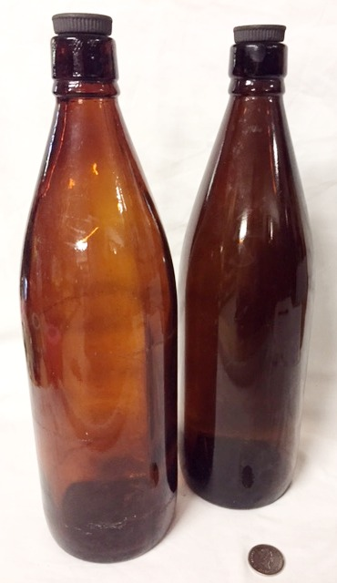 Brown Glass Bottles