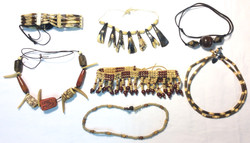 Assorted beaded necklaces