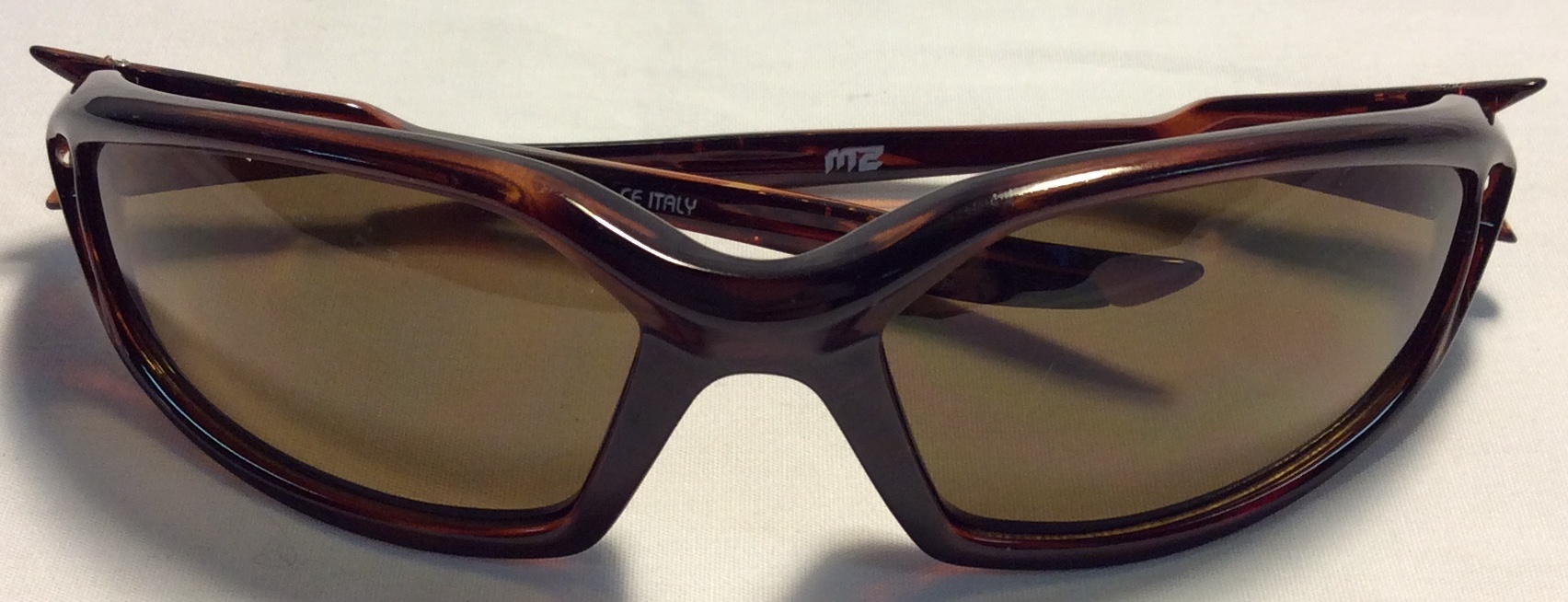 Spy Optic Red/brown plastic frames