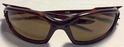 Spy Optic Red/brown plastic frames