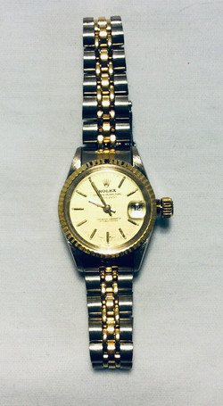 Rolex & Timex Gold face