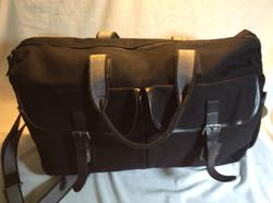 Black Overnight Duffle Bag