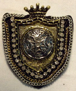 Crest Shaped Brooch