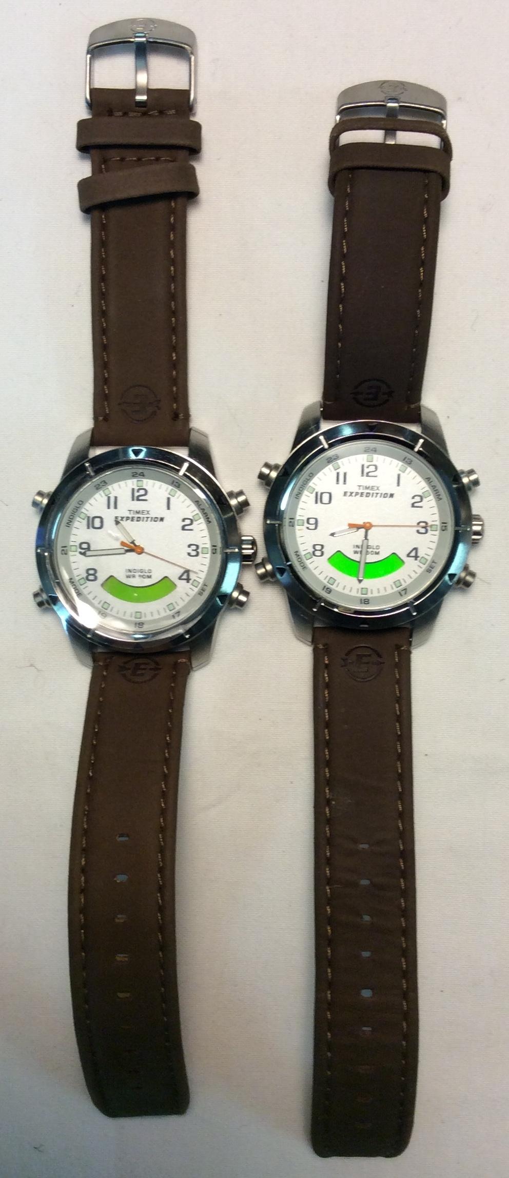 Timex Expedition watch - round