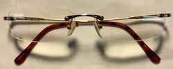 Infokus Thin gold metal frames