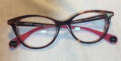 Dark Orange eyeglassses
