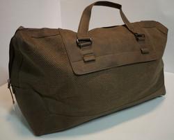Polyester brown travel bag