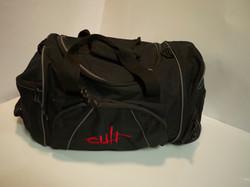 Med/Lg Black duffle bag