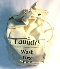 Canvas Drawstring Laundry Bag