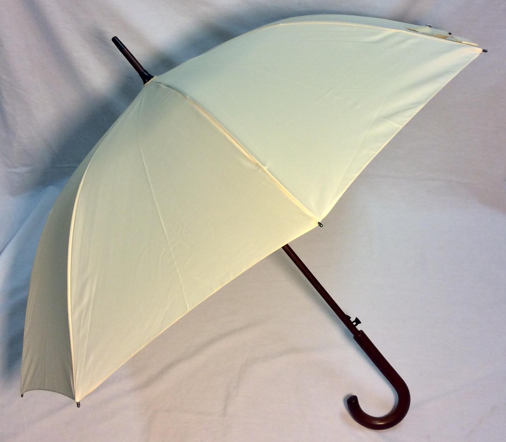 Cream Umbrella
