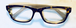 Leopard Print Rim Eyeglasses