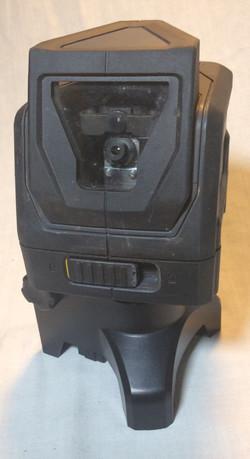 Rubber incased swivel camera