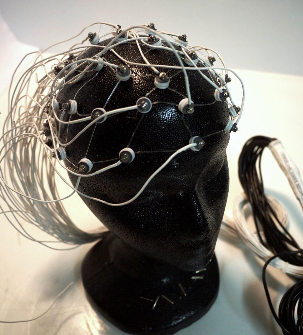 Electrodes headnets