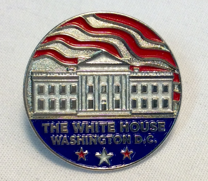 US White House pins