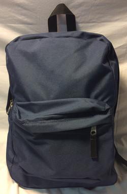 JanSport Dark blue with black zipper