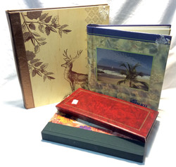 Assorted photo albums