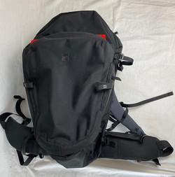 Medium MEC weatherproof backpacking bag