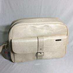 Egg shell retro travel bag