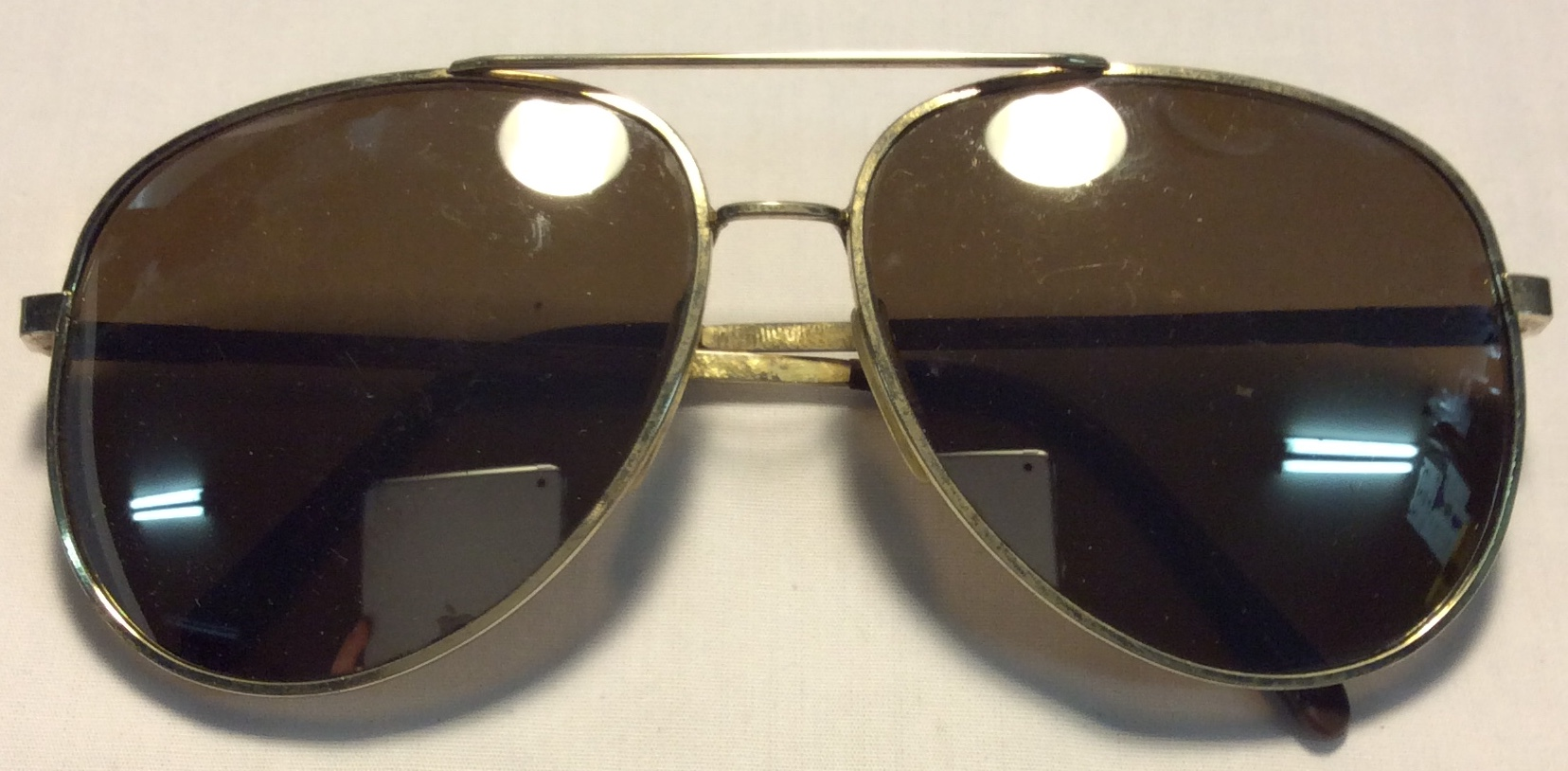 Tropic-Cal Gold metal frames