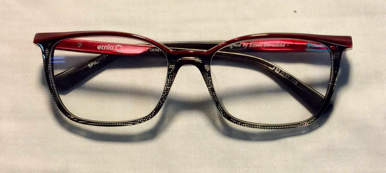 Purple and Black ARL womens glasses