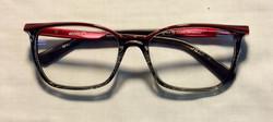 Purple and Black ARL womens glasses