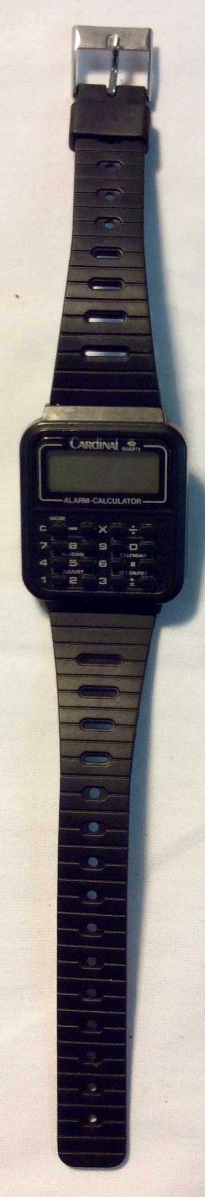 Cardinal Quartz Digital calculator