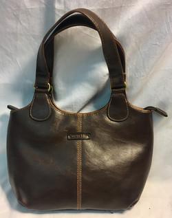 Rosetti Small brown leather purse