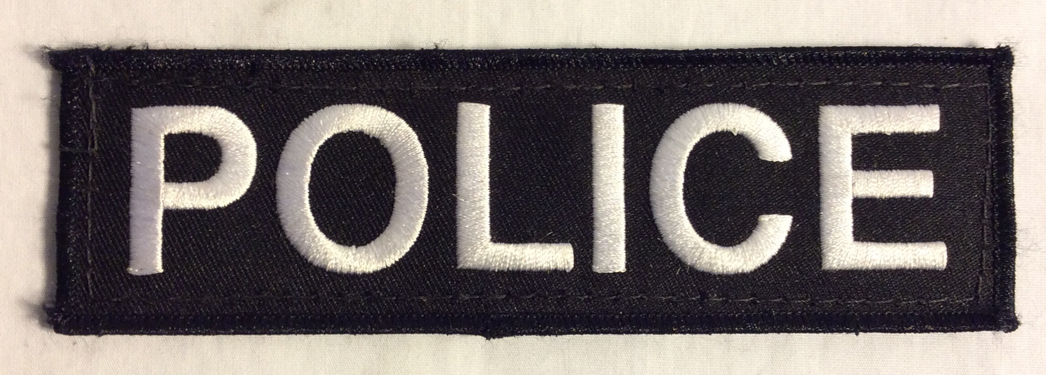 Police Velcro Patches