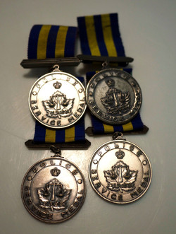 Police service medals