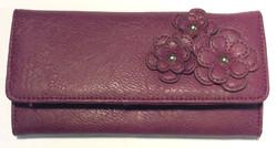 Fiorelli Purple leather wallet
