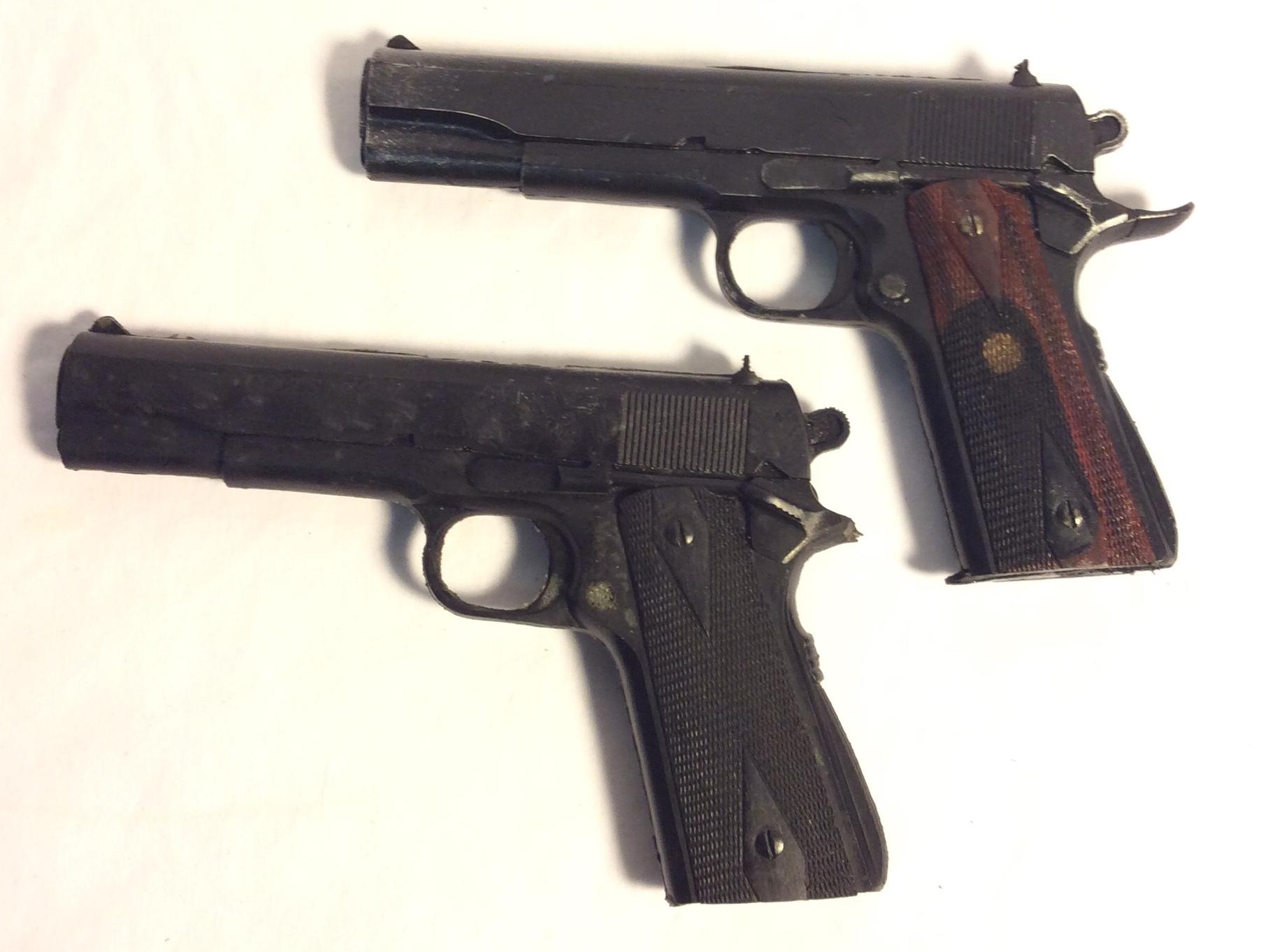 Rubber Colt 45