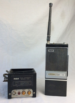 RCA Personalfone 150 with dual charger