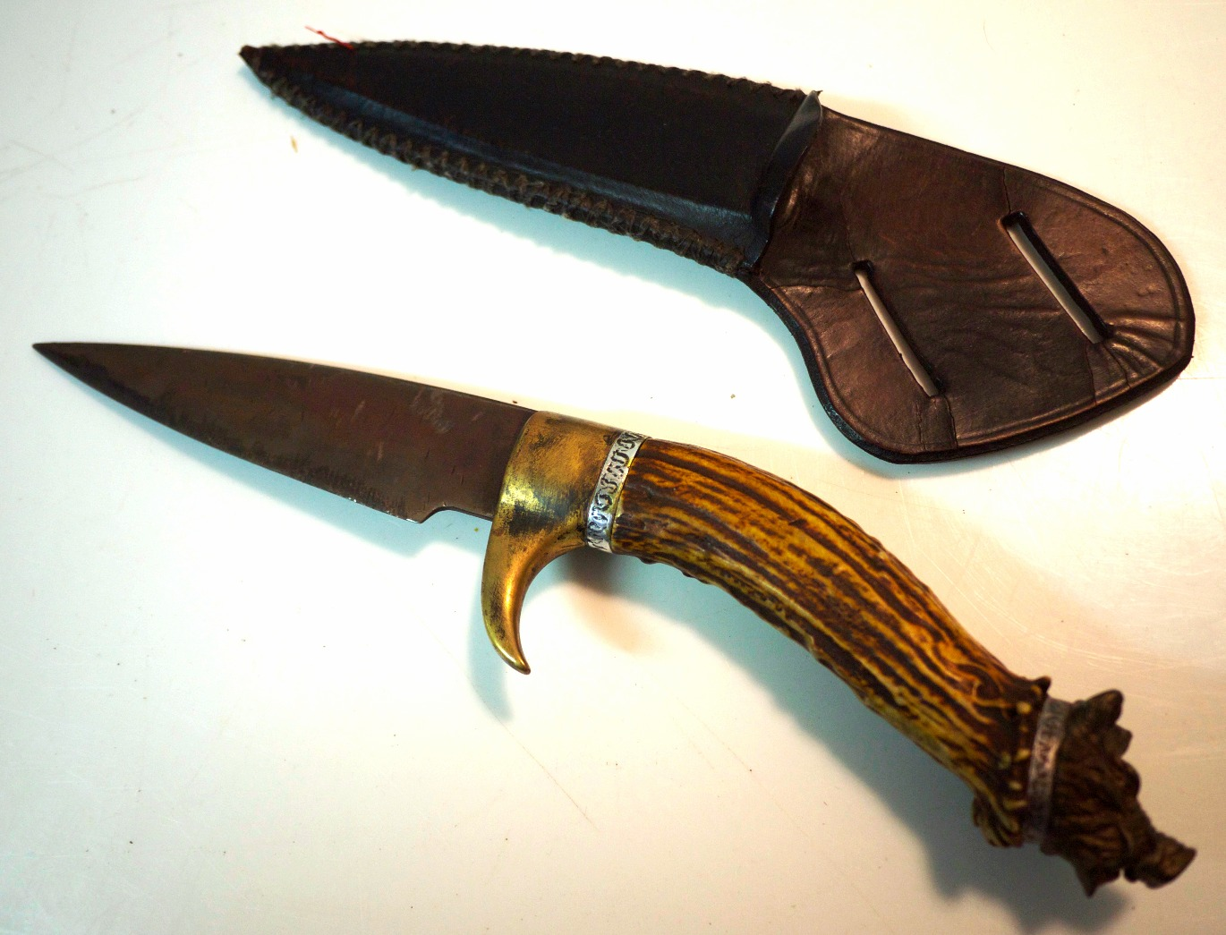 Boar's Head Knife