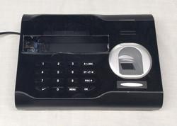 Functional playback fingerprint+keypad security panel