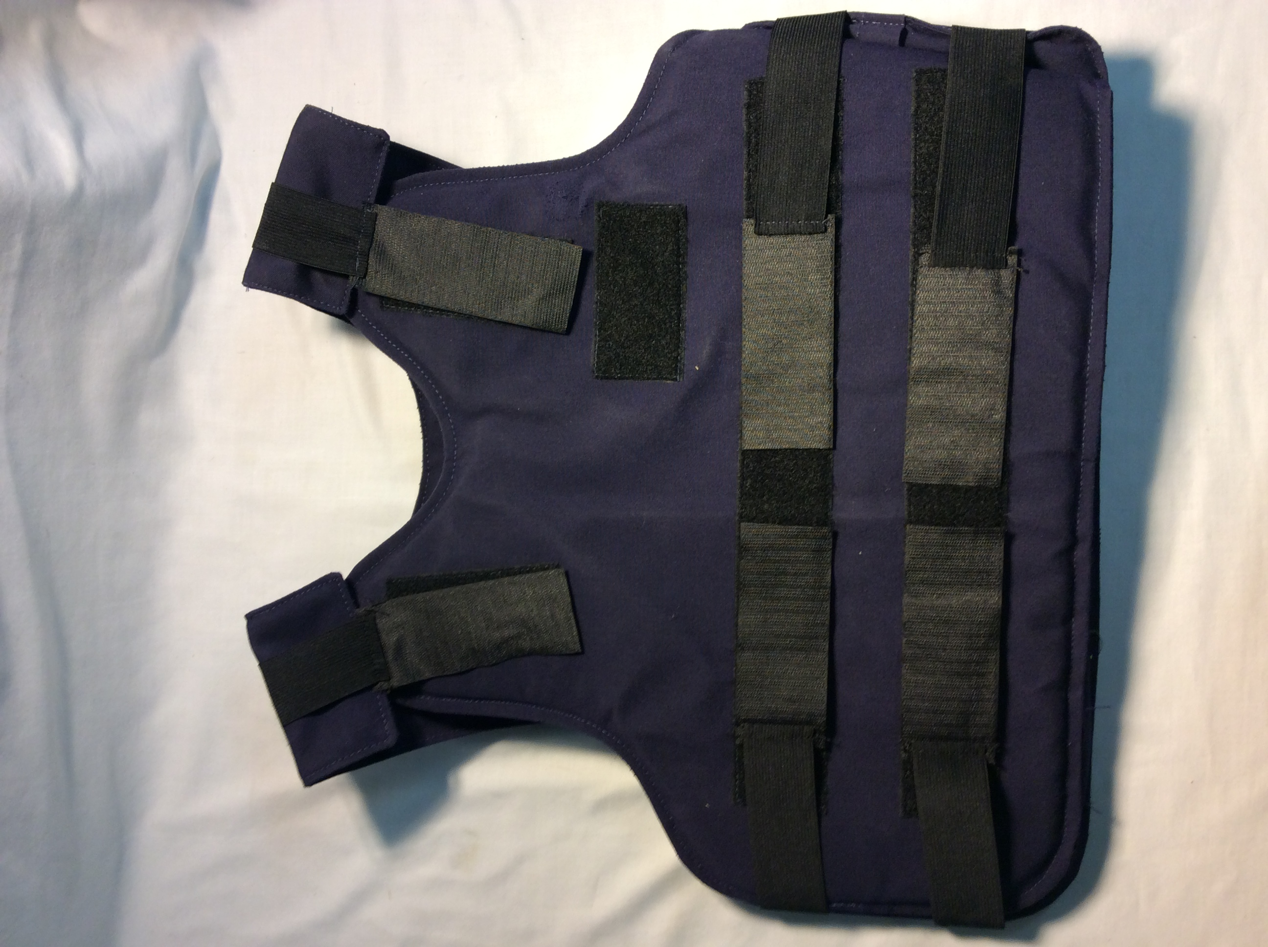 Navy Blue w/ black velcro
