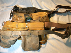 Leather toolbelts